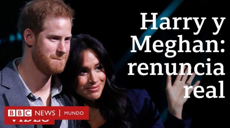 Harry y Meghan: ¿qué cambia para los duques de Sussex al apartarse de sus funciones en la realeza británica?