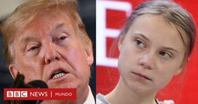 Davos 2020: el cruce de declaraciones entre Greta Thunberg y Donald Trump