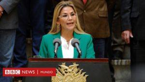 Jeanine Áñez anuncia que postulará a la presidencia de Bolivia en las elecciones de mayo