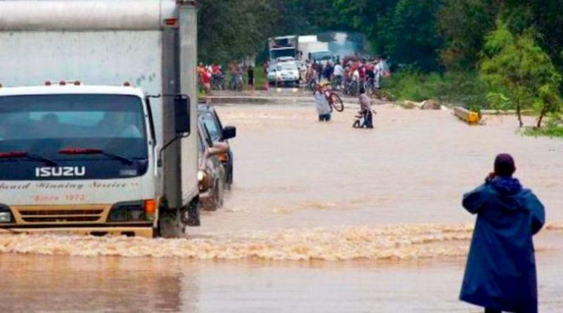 Alerta en el occidente de Honduras por tormenta Amanda