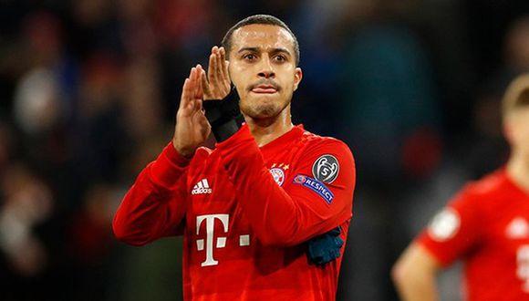 Bayern Munich da el visto bueno por el fichaje de Thiago al Liverpool