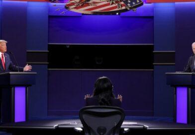 Trump y Biden intercambian acusaciones en segundo debate presidencial