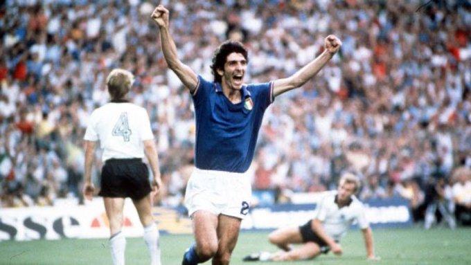 Muere jugador italiano y estrella de España 82 Paolo Rossi