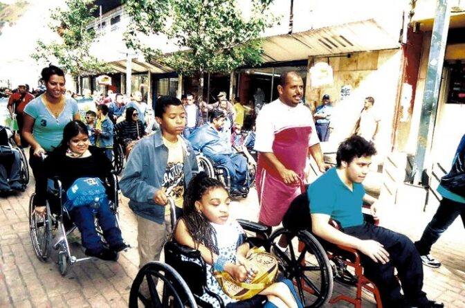 En olvido más de un millón de discapacitados en Honduras