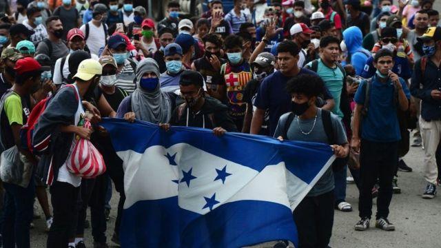 Guatemala no permitirá el ingreso de caravana migrante