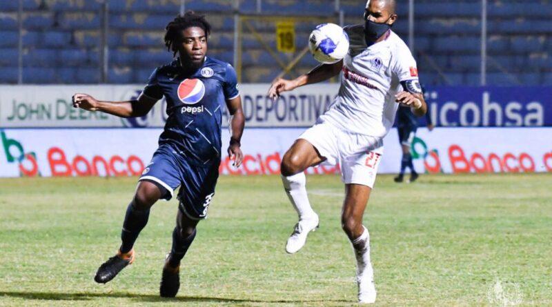 Olimpia vence al Motagua en el primer partido clasificatorio a la final