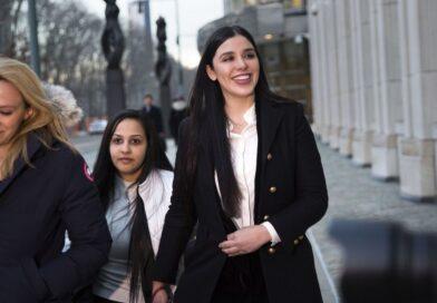 """Esposa de el """"Chapo"""" se entregó para cooperar con autoridades de EEUU"""