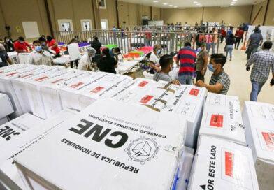 El CNE hace oficial resultados electorales de elecciones primarias