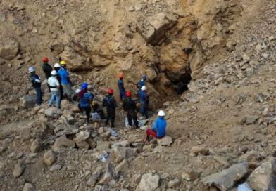 Cuatro mineros quedan soterrados en Choluteca
