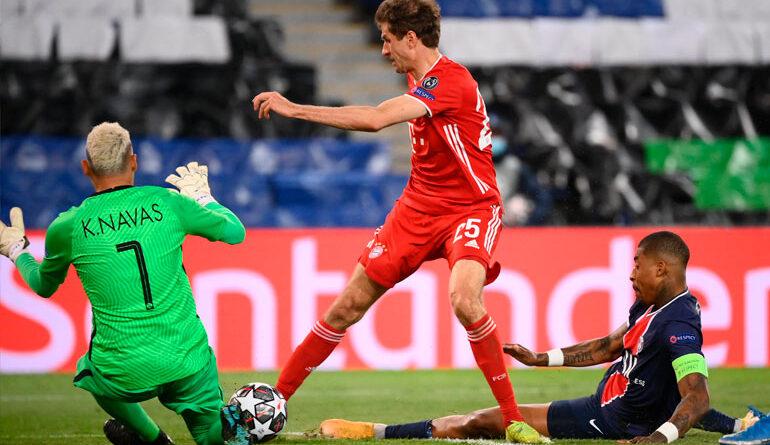 PSG se cobra la venganza ante el Bayern y jugará las 'semis' de Champions
