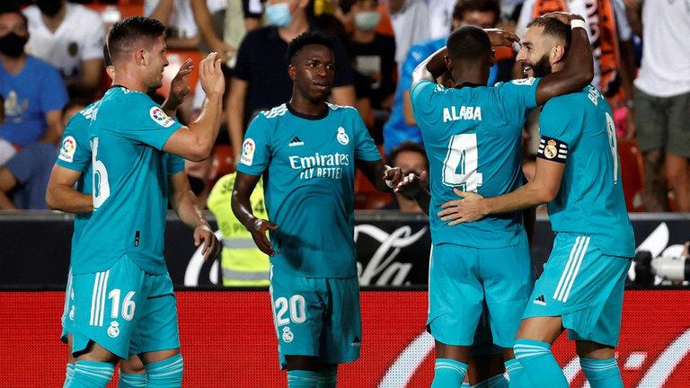 El Real Madrid remonta muy cerca del final