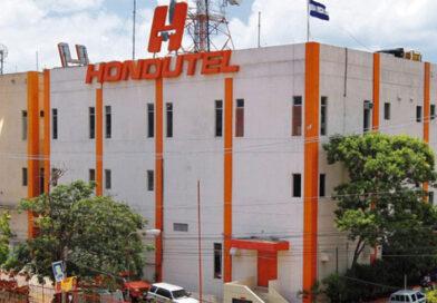 Empleados de Hondutel protestan por sueldos atrasados