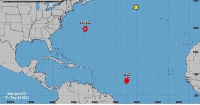 Sam está a punto de alcanzar categoía de huracán mayor sobre el Atlántico