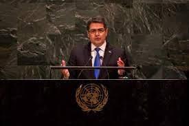 Presidente Hernández defiende lucha contra el narcotráfico en discurso en la ONU