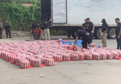 Decomisan 55 sacos de marihuana en Yoro